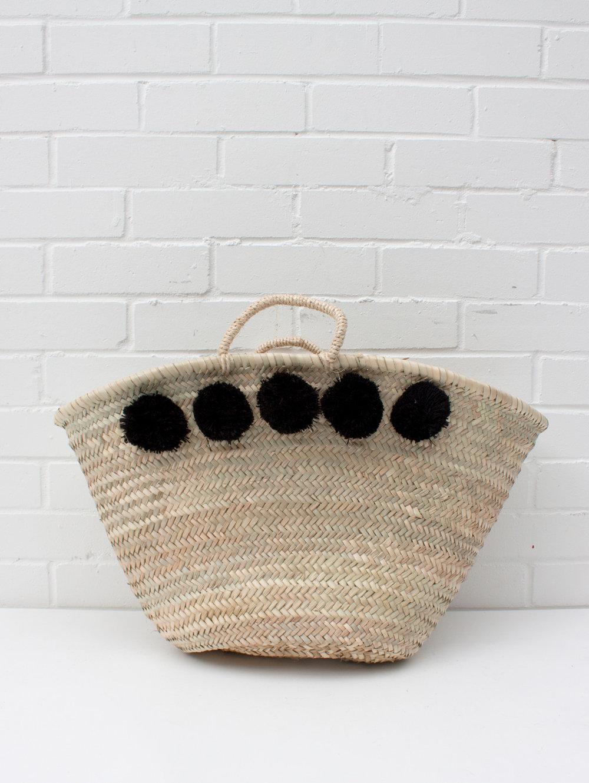 Bohemia-Market-Pom-Pom-Basket-Black.jpg