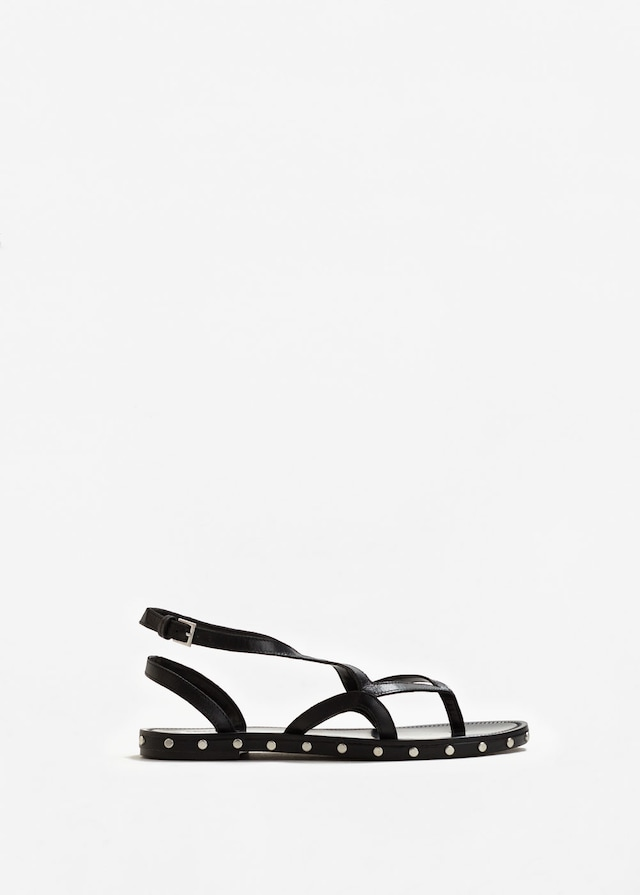 Leather strap sandals, £29.99