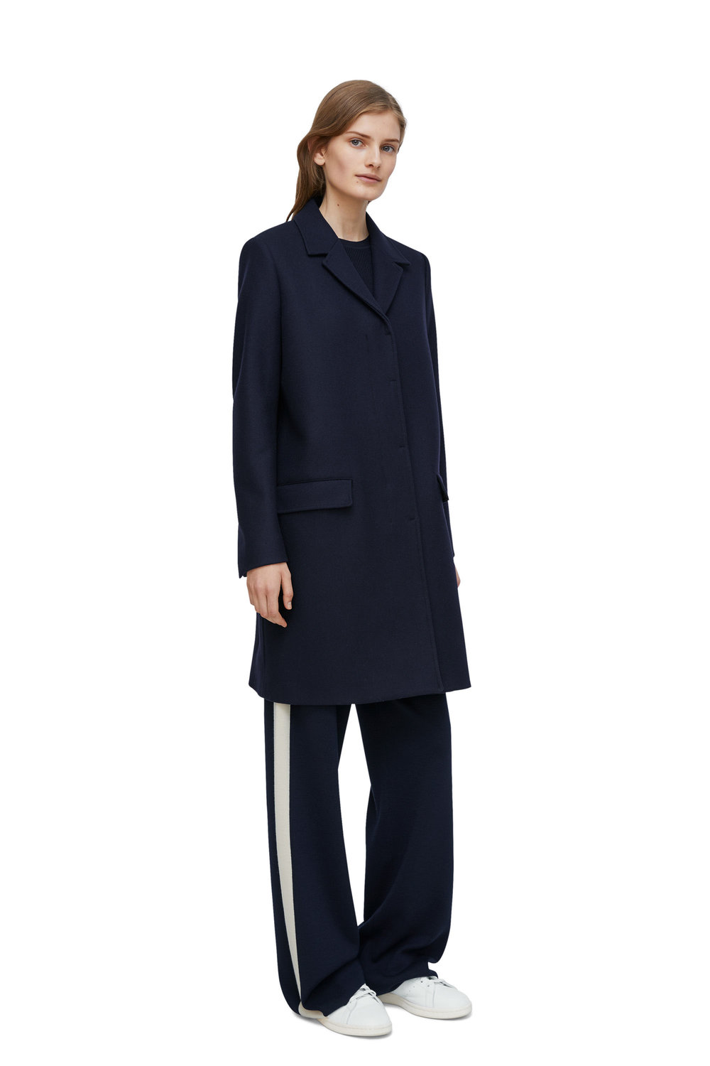 Heavy Wool Coat, £190