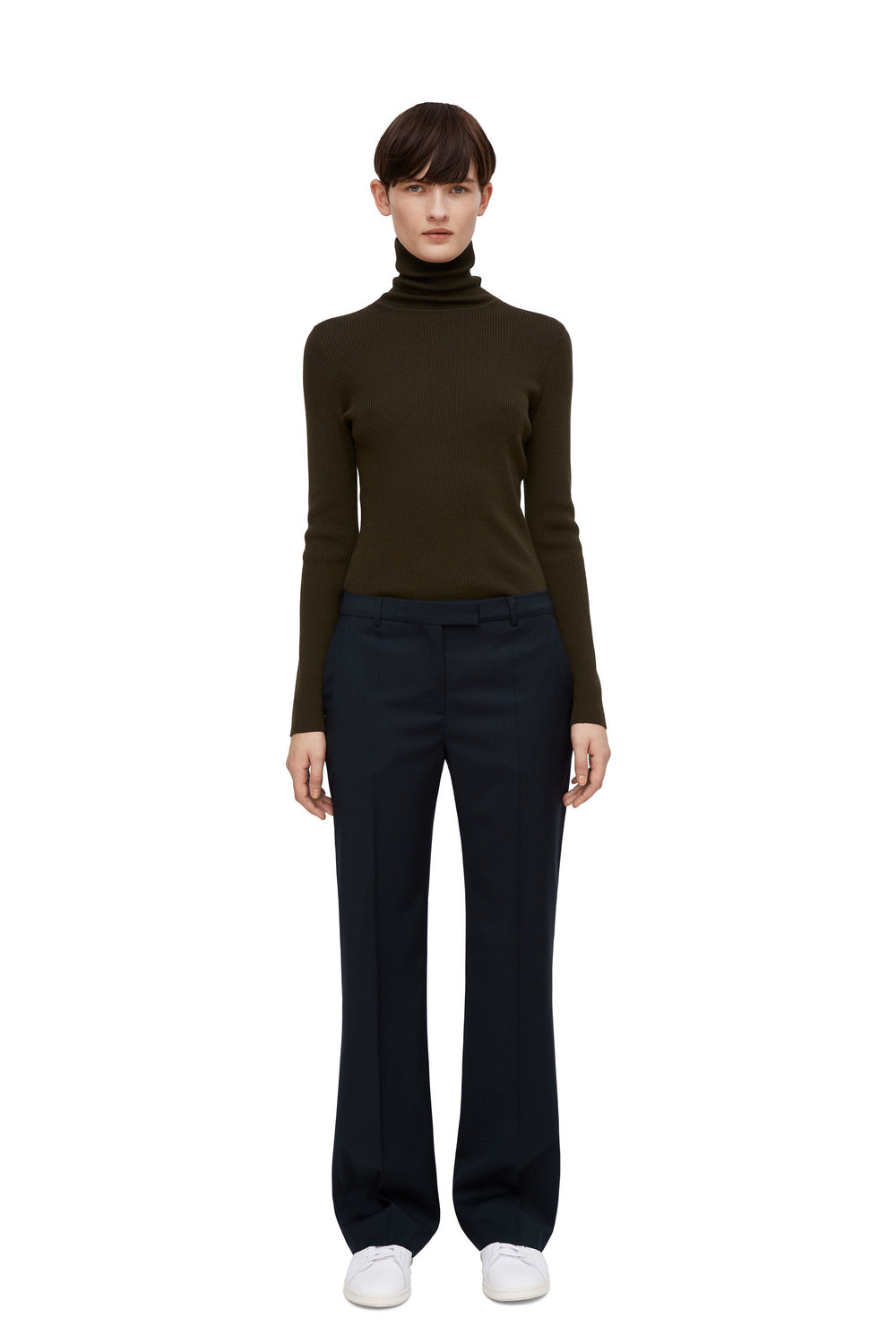 Tailored Wide-Leg Wool Trousers, £79