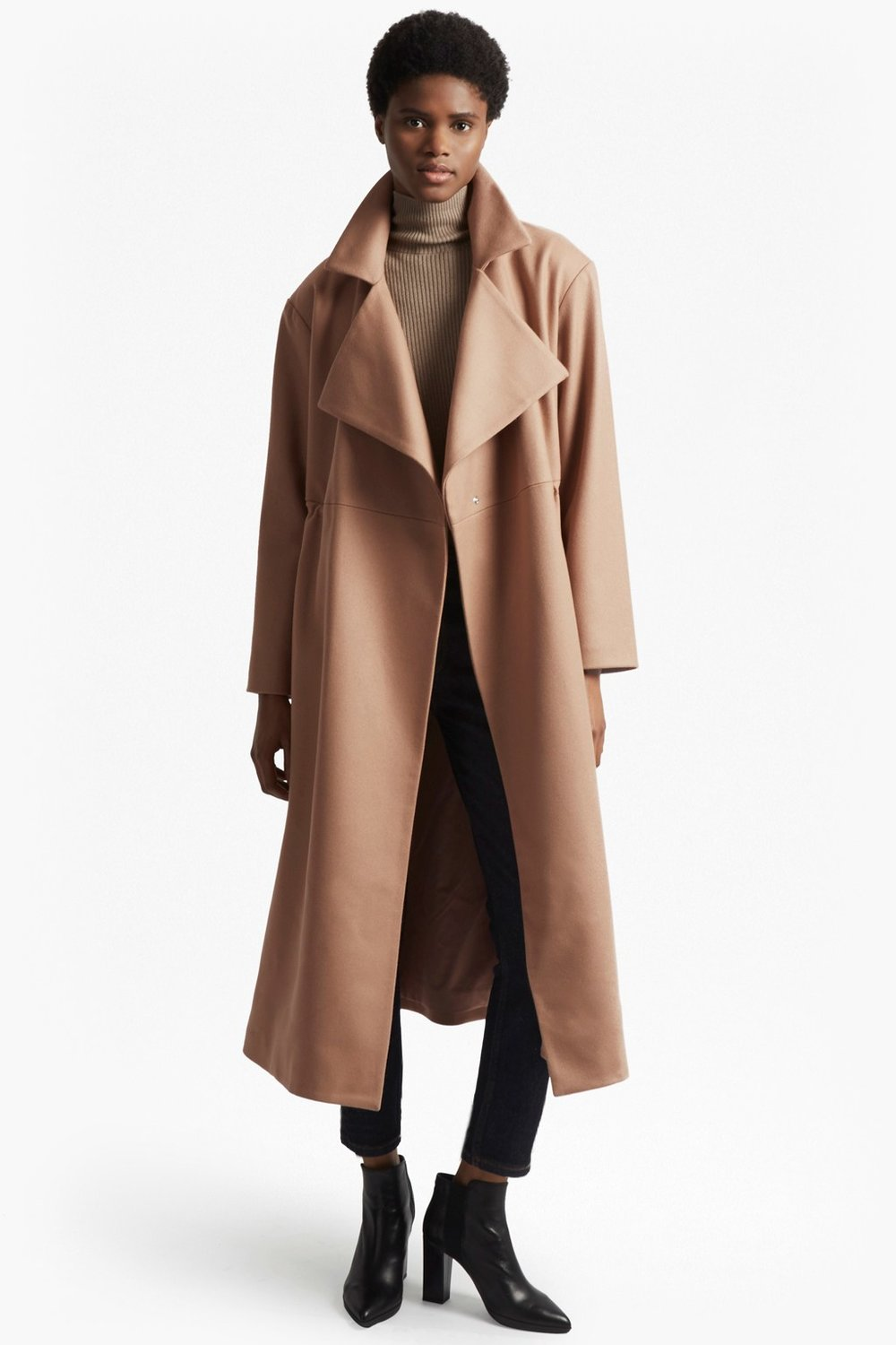Platform Felt Coat, French Connection, £230