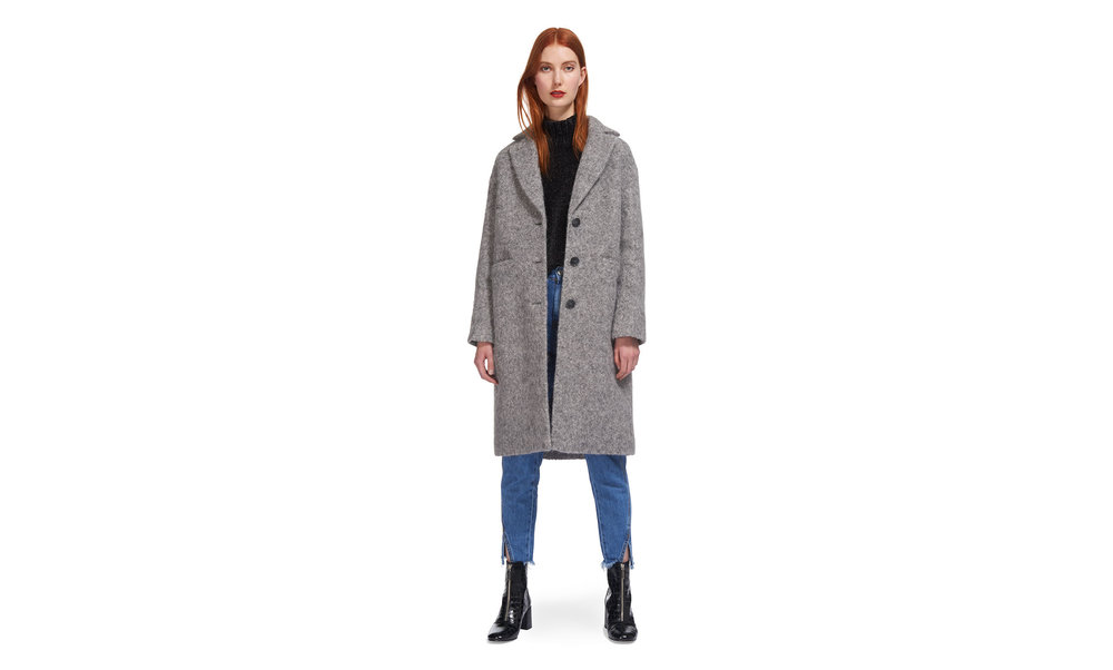 Slim Drawn Coat, Whistles, £295