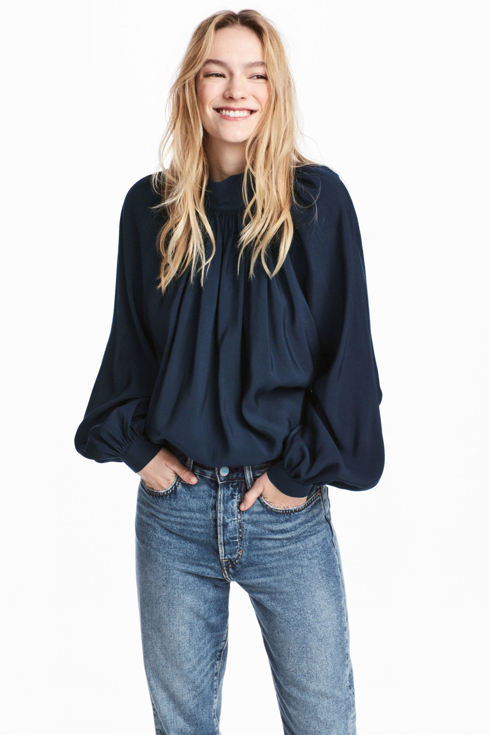 Balloon Sleeved Blouse, H&M, £34.99