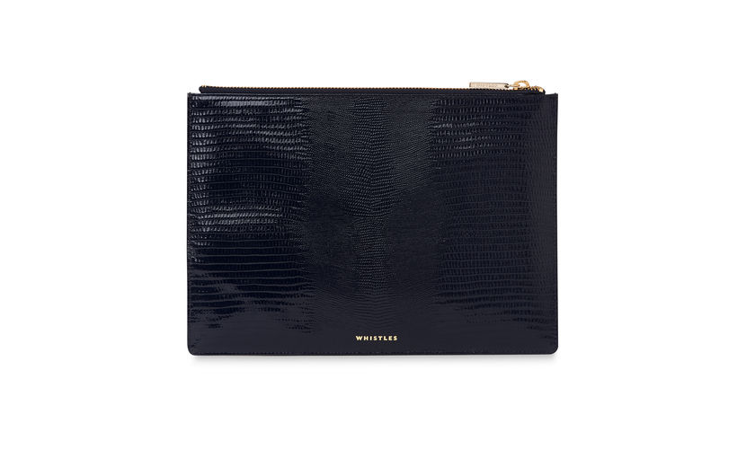 Lizard Medium Clutch, Whistles, £69