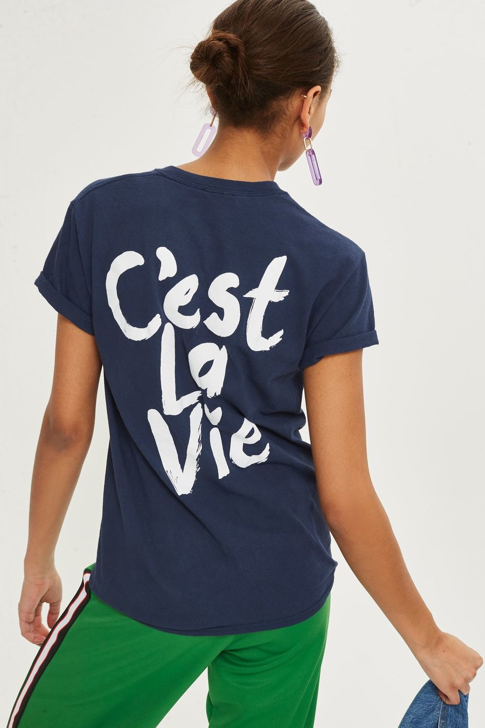 Slogan T-Shirt, Top Shop, £16