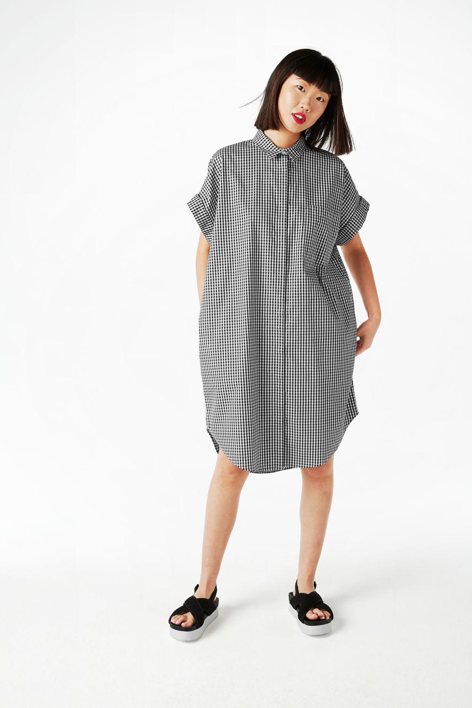 Oversize Shirt Dress, Monki