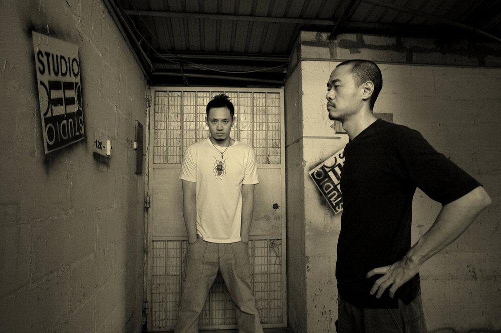 Eddy & Russell - studio OFF.JPG