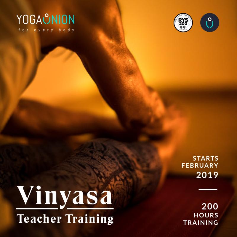 Vinyasa Teacher Training 2019 - Coming Soon