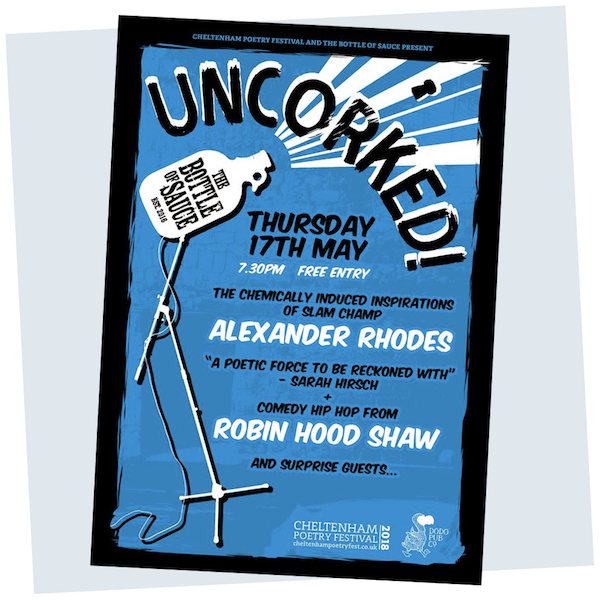 THURSDAY 17TH MAY  FROM 7:30PM  UNCORKED PART III