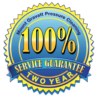 Two Year Guarantee on house washes