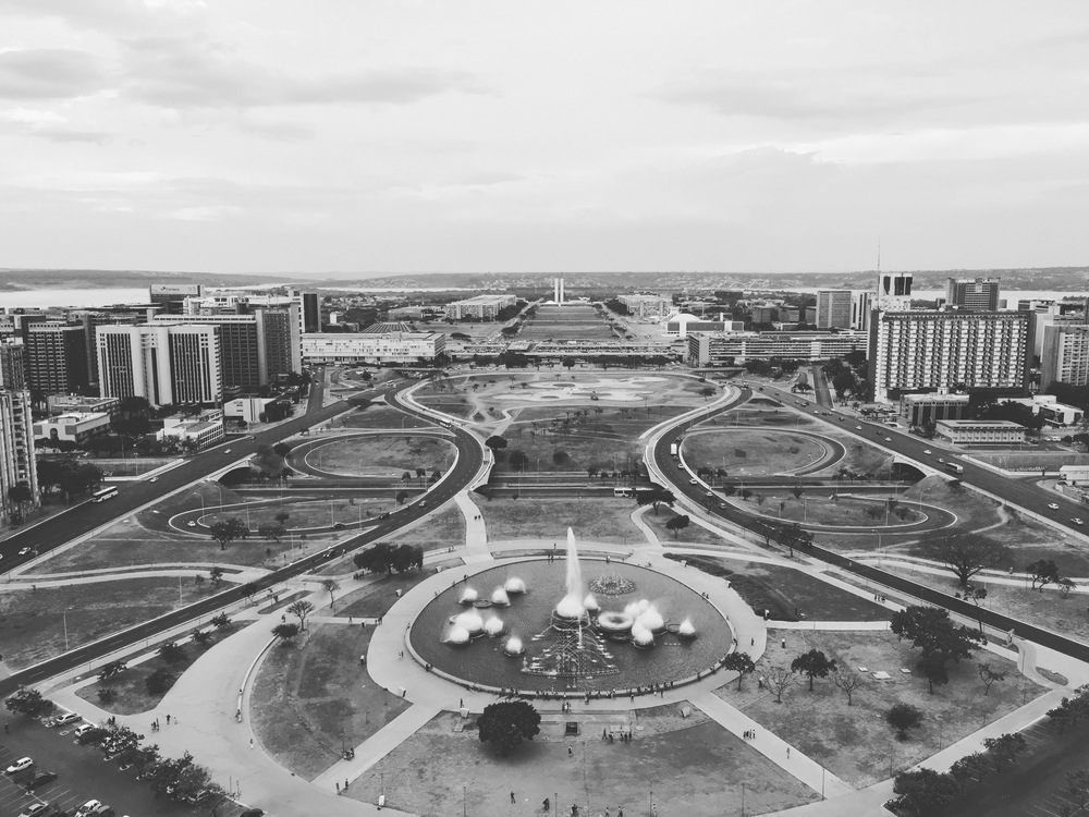 Brasilia seen from the TV Tower
