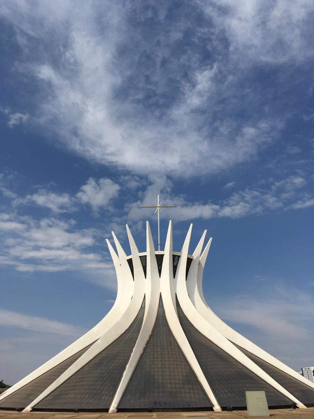 A Catedral de Brasília