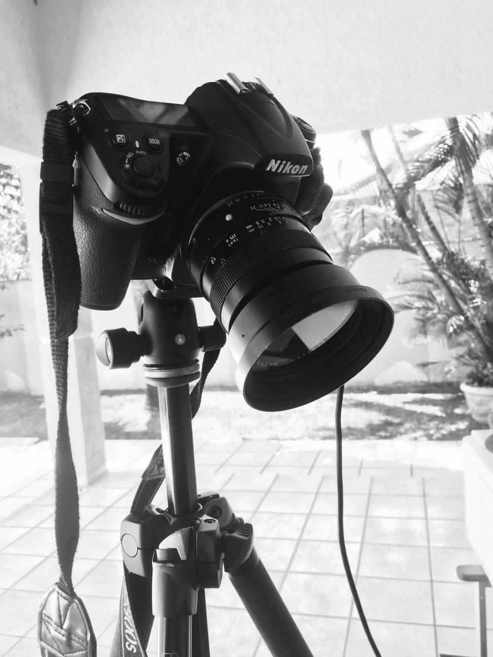 Nikon D300s com a Leica R Elmarit 60mm f2.8