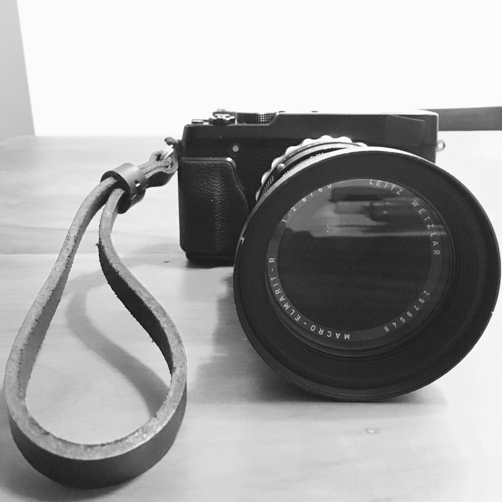 FujiFilm XE-1 com adaptador K&F Concept e Lente Leica R Elmarit 60mm f2.8