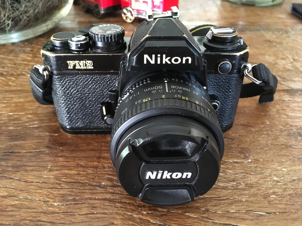 Adorei esse desgate da Nikon FM2