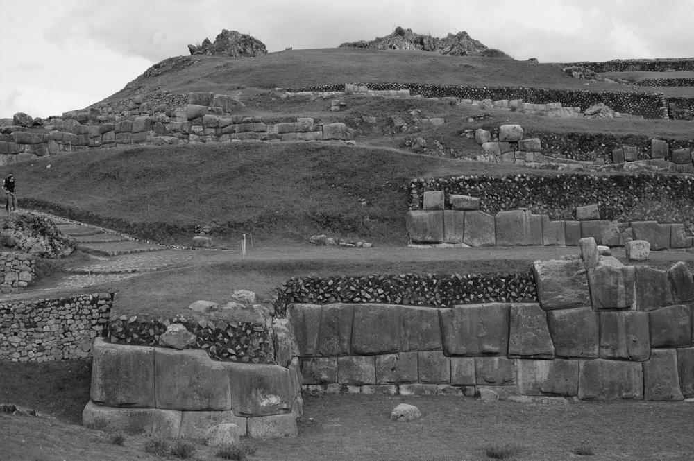 Estima-se que somente sobraram 20% das ruínas. Os espanhóis usaram as pedras para construir casas e igrejas.