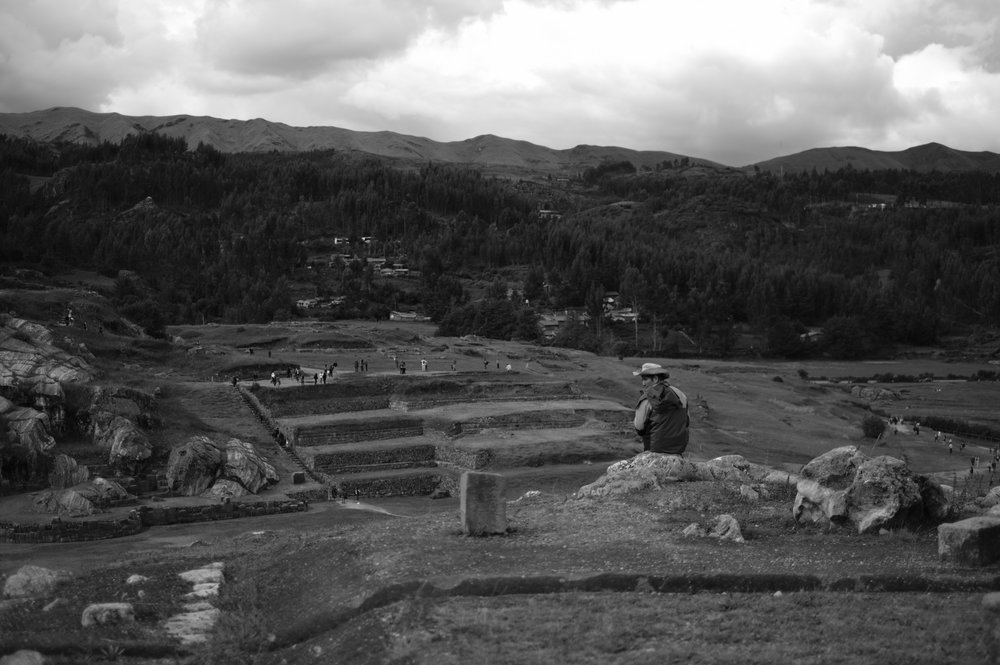 Guia em Sacsayhuaman