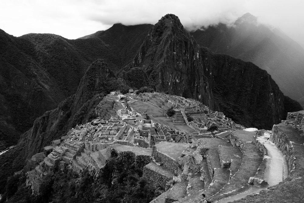 Ruínas de Machu Picchu -iPhone 6 SE + VSCO CAM app