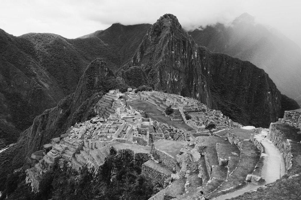 Ruínas do Império Inca em Machu Picchu - Fuji XT2