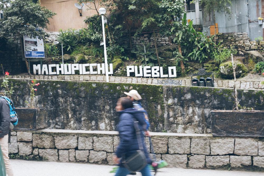 Aguas Calientes ou Pueblo de Machu Picchu - Fuji XT2