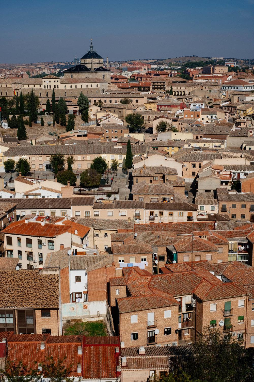 Vista de Toledo de fora