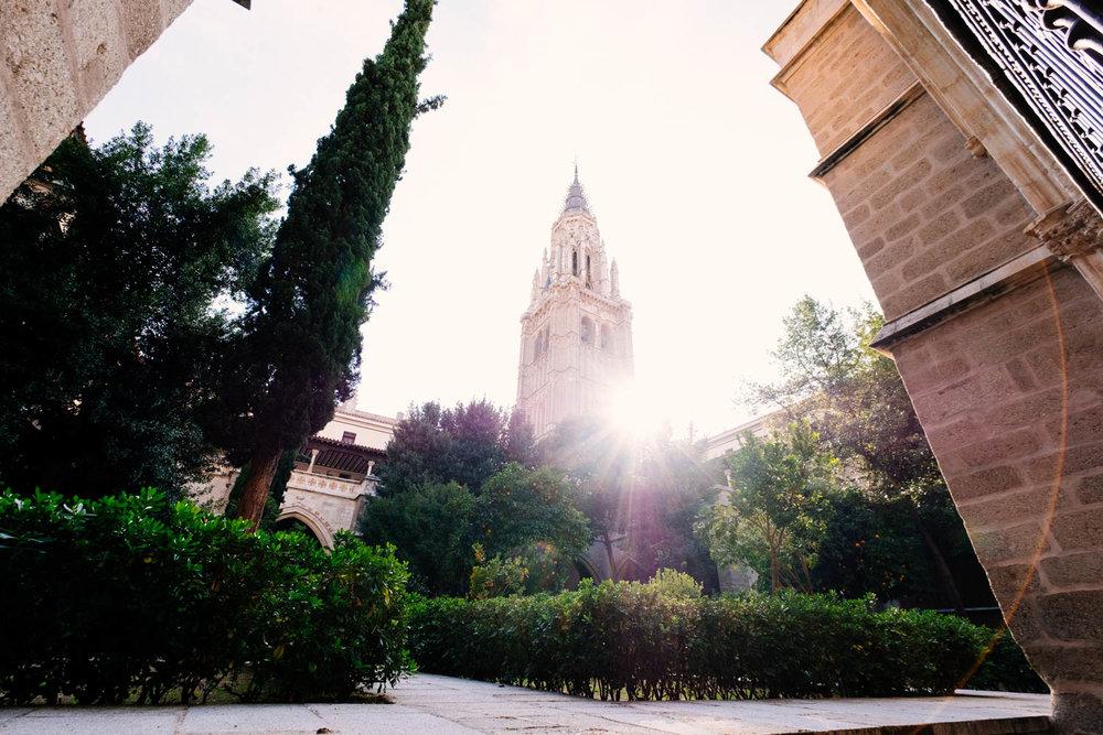 Vista da Torre da Catedral de Toledo