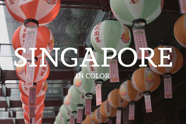 Singapore in Color.  Photos from the last week of May in Singapore, the heart of Asia.  Food, Temples, Architecture and some of the people of this curious city. . . . . . .#instapassport #aroundtheworldpix #ig_masterpiece #flashesofdelight #travelog #mytinyatlas #visualmobs #theglobewanderer #singapore #asia #colorphotography #asianpeople #wonderlust  #fujifeed #myfujifilm #fujixclub #fujiframez #focalmarked #vsco #travelphotography #tourism