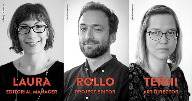 Introducing Laura, Rollo and Terhi, a.k.a. our wonderful Editorial Team! . . . #kaikenentertainment #publishing #editorial #books