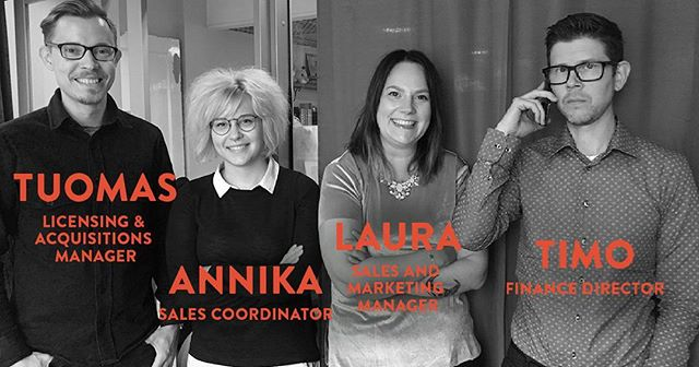 We use our proven track record of success to build a path. Meet our fantastic Sales Team! . . . #kaikenentertainment #sales #marketing #licensing