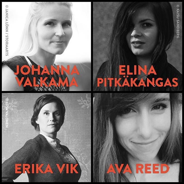 We have new stars to introduce! 🌟 Kaiken is proud to represent these four talented authors, who bring fresh and edgy stories for teenage readers and YA fans.  The international rights for Iron Hearts by @johanna.valkama, Surrounded by @elinapitkakangas, Twins Suns by @erikavik_author and The Moon Princess by @avas.bookwonderland are now available through us. • • • #kaikenentertainment #kaiken #ya #yalit #yaliterature #ironhearts #surrounded #twinsuns #themoonprincess #johannavalkama #elinapitkäkangas #erikavik #avareed