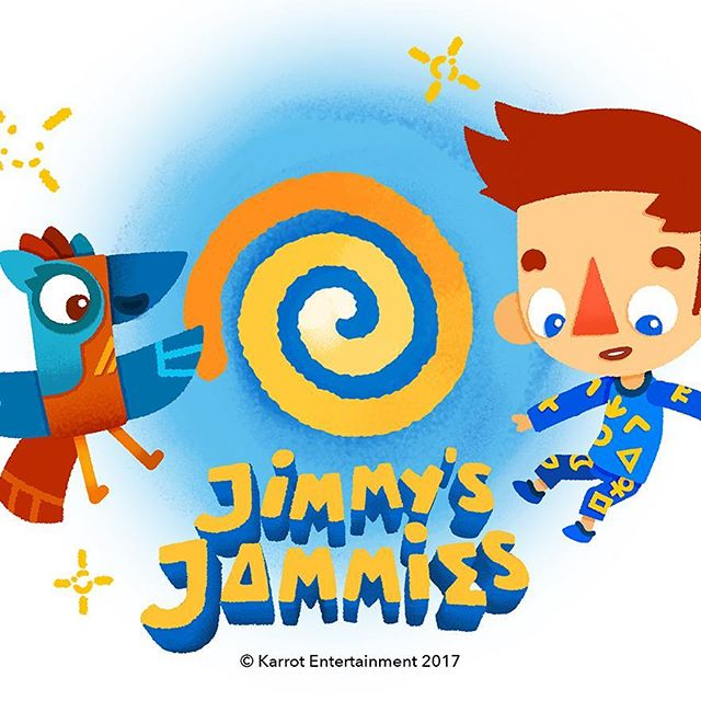 🌟Jinmy's Jammies is one of the latest additions to our kids' publishing section. These fun and educational stories are created by Emmy Award-winning Karrot Entertainment who are also the makers of the widely distributed animated series Sarah & Duck. The international publishing rights for the Jimmy's Jammies picture books are now available.🌟 • • • #kaikenentertainment #kaiken #kidlit #kidliterature #kidlitart #animation #karrotentertainment #karrotanimation #jimmiesjammies