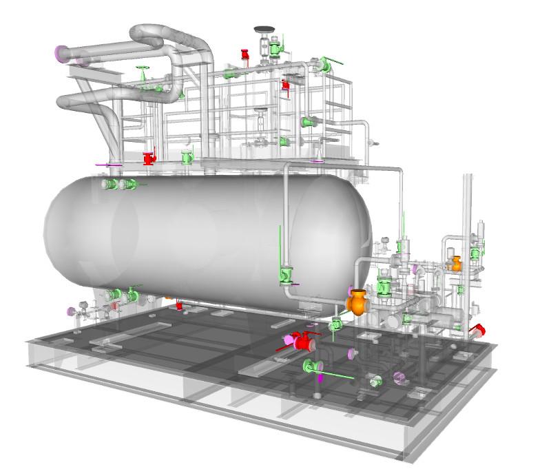 Viewing open / close status of manual valves