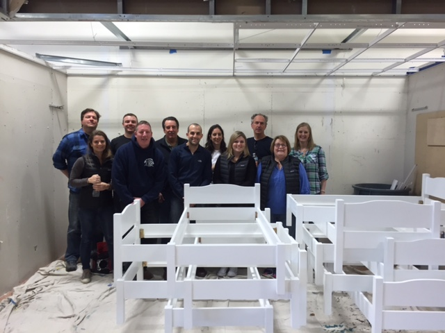 Boston Cares Bed Build