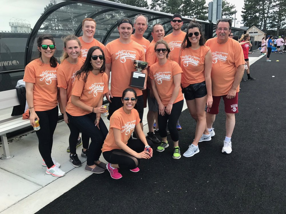 Playworks Corporate Kickball 2017