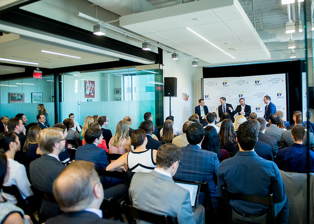 EIG and EY panel discussion among U.S. Members of Congress.