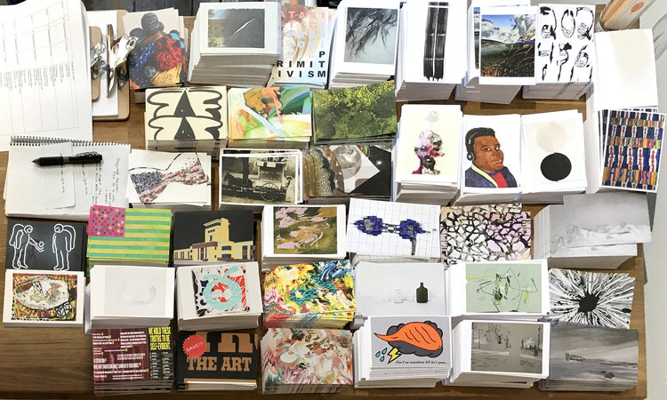give voice postcard project neumeraki