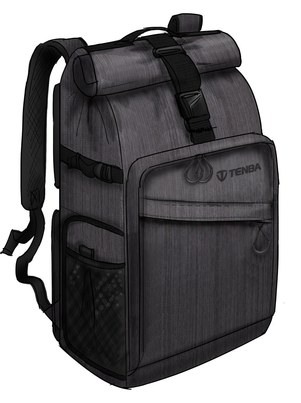 DNA Rolltop backpack - color.jpg