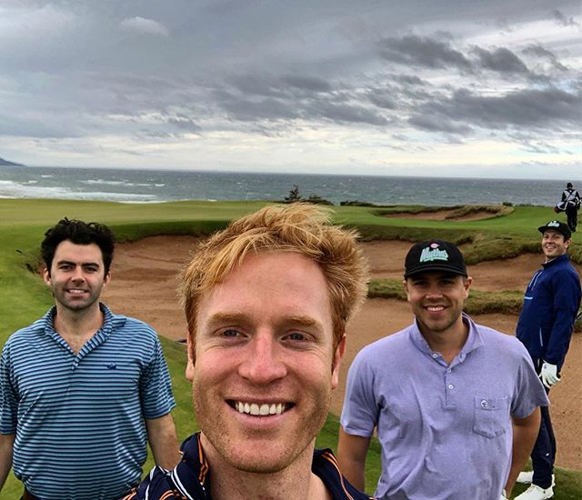 Had the best time of our lives at @cabotlinks BIG thanks to @riggsbarstool for pointing it out on the map!! If you like fun and golf and nature, this place is for you. Oh Canada, where your downwind drives and your American dollar go farther!