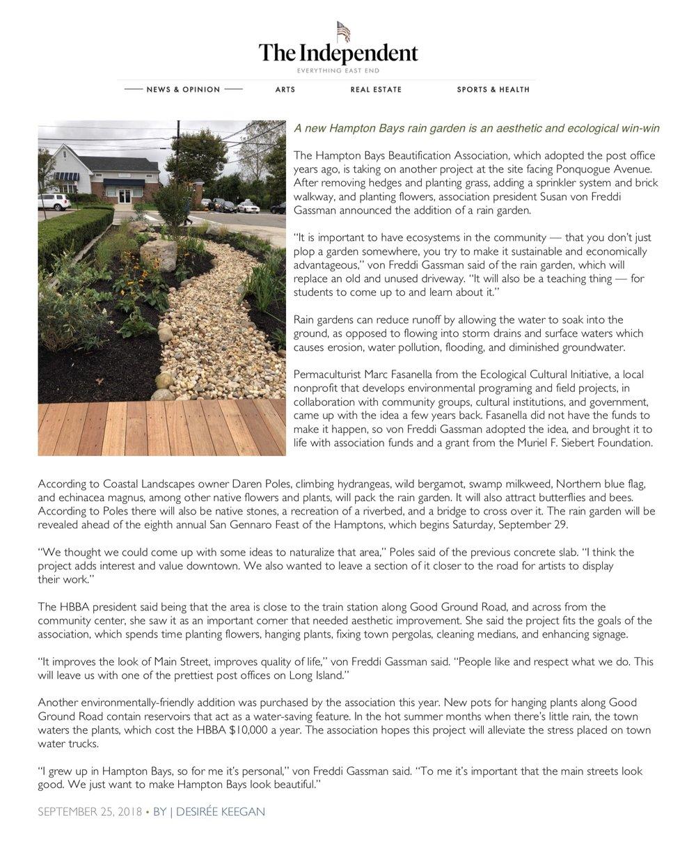 A new Hampton Bays rain garden is an aesthetic and ecological win-win.jpg
