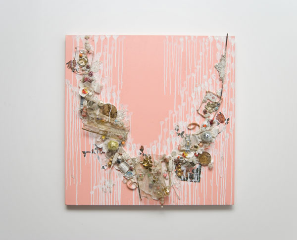 The Swing Se t, Mixed Media on Canvas, 36 x 36 Inches, 2011