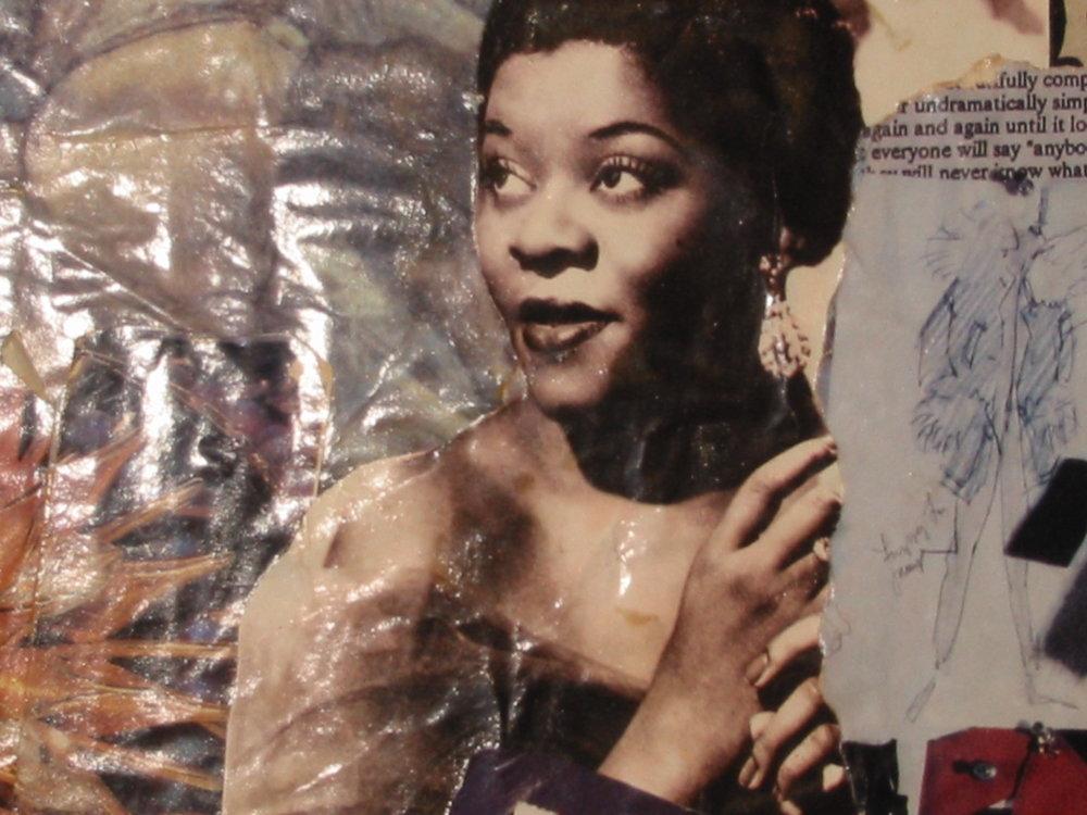 Beautiful Black Woman, Digital print, 1994