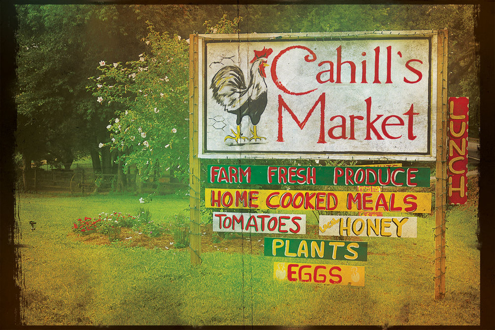 Cahill's sign