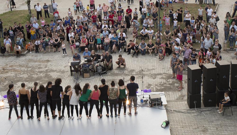 The Tsalkhubo Festival (Georgia)  Organised by ArtasFoundation in cooperation with the IDP Women's Association of Tskaltubo. The Festival is part of the Programme. (Photo credit: Natela Grigalashvili)