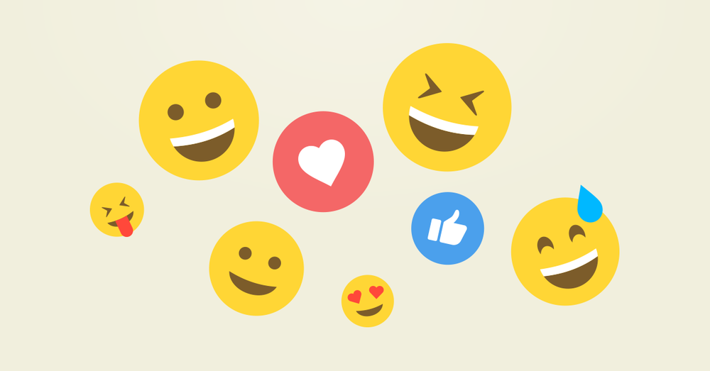 Sosiaalinen media emojit