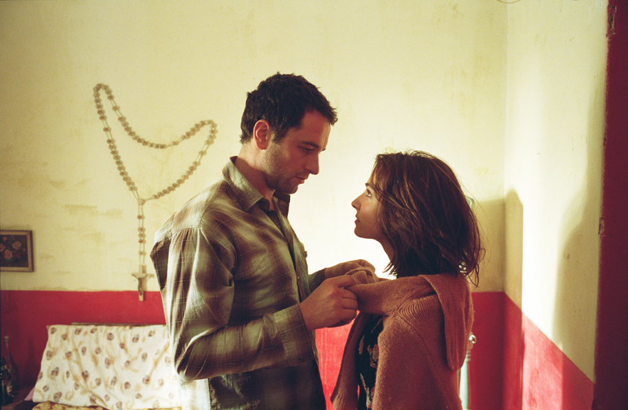 Matthew Rhys and Nia Roberts in Patagonia