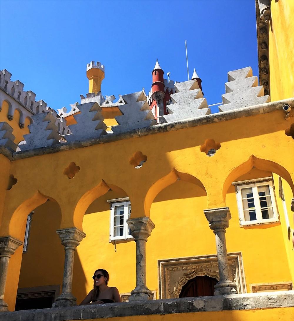 Amanda at the Palacio da Pena