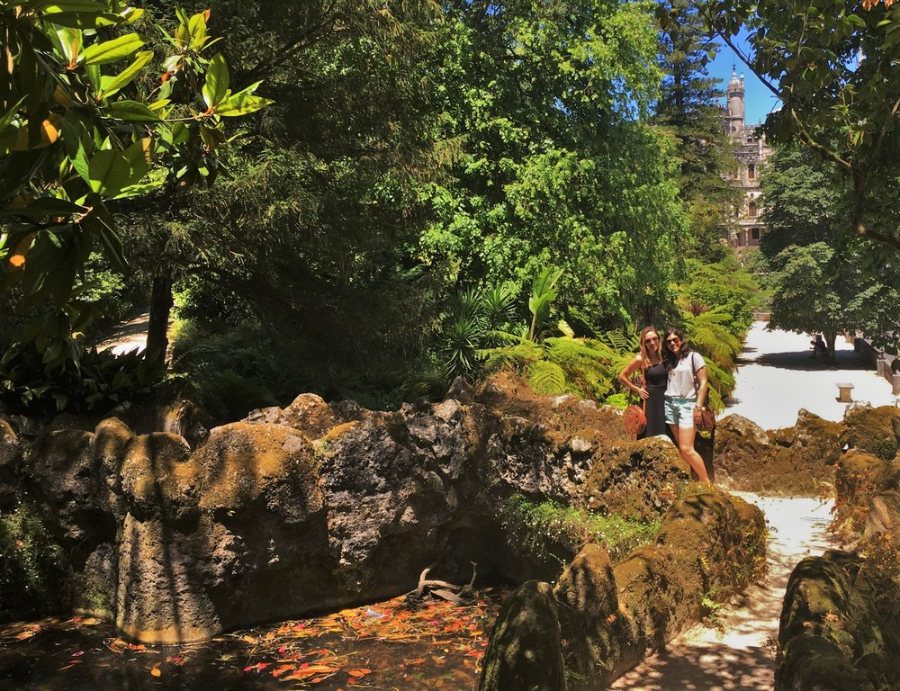 Dreamy gardens at the Quinta da Regaleira