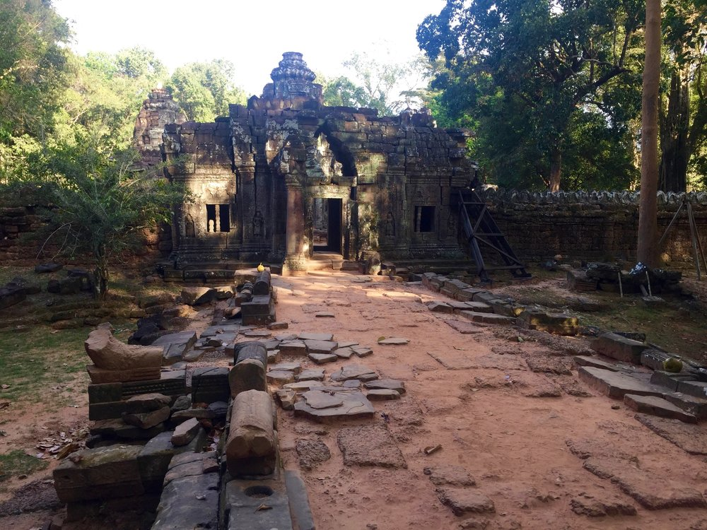 The entrance to Preah Khan didn't prepare me for the beauty that I found inside.