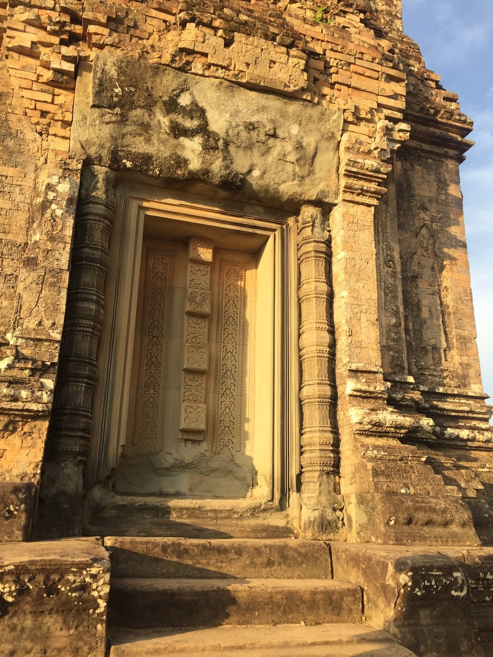 I love the detailing on this tower on top of Pre Rup.