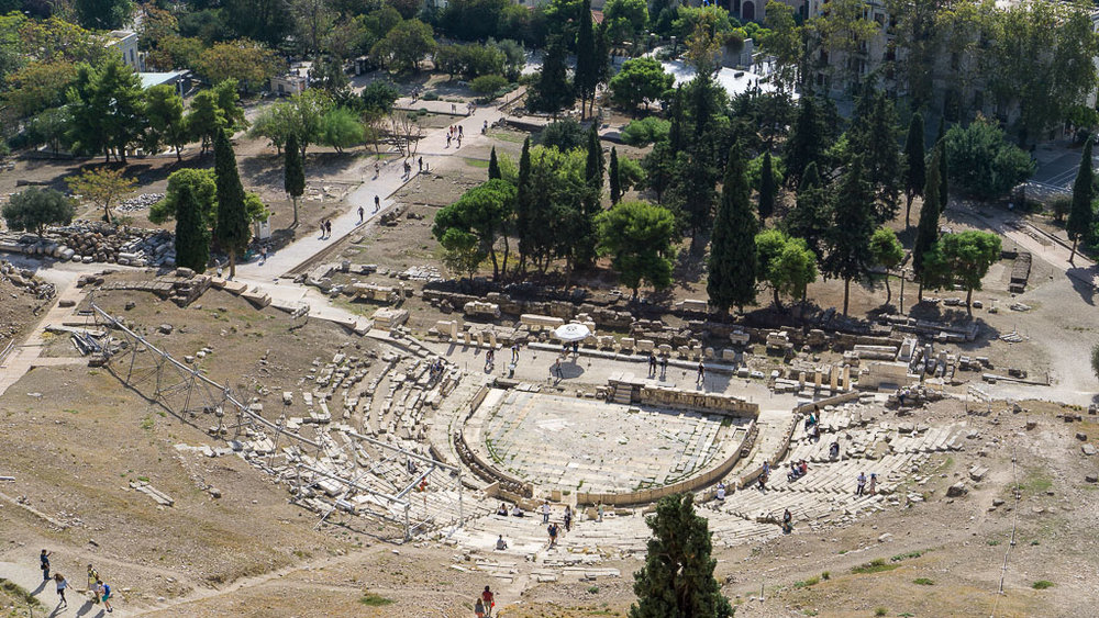 Theater of Dionysus from above